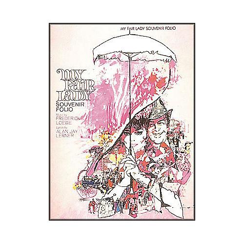 Hal Leonard My Fair Lady Souvenir Folio arranged for piano, vocal, and guitar (P/V/G)