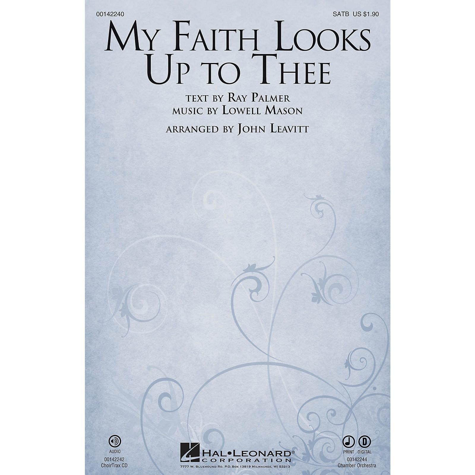 Hal Leonard My Faith Looks Up to Thee CHOIRTRAX CD Arranged by John Leavitt