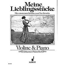 Schott My Favorite Pieces Vn&pf Or Pf Qrt Schott Series