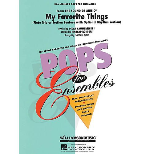 Hal Leonard My Favorite Things Concert Band Level 2.5 Arranged by Elliot Del Borgo
