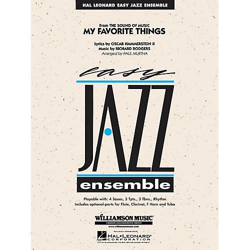 Williamson Music My Favorite Things Jazz Band Level 2 Arranged by Paul Murtha
