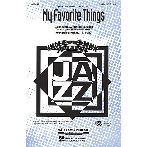 Hal Leonard My Favorite Things (from The Sound of Music) (SATB) SATB arranged by Paris Rutherford