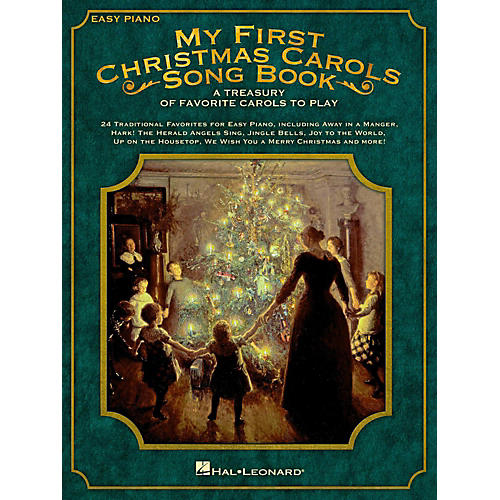 Hal Leonard My First Christmas Carols Songbook - A Treasury of Favorite Carols to Play