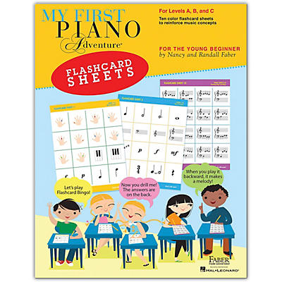 Faber Piano Adventures My First Piano Adventure Flashcard Sheets - For the Young Beginner