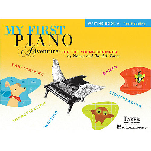 Faber Piano Adventures My First Piano Adventure Writing Book A Pre-Reading
