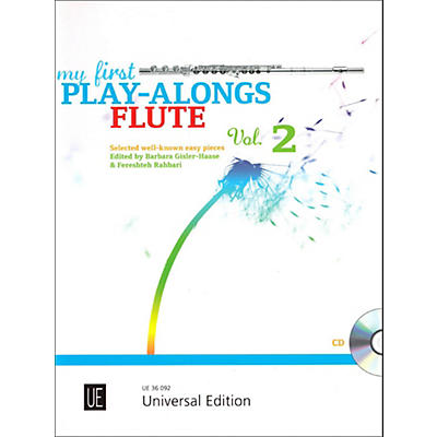Carl Fischer My First Play-Alongs Volume 2 - Flute with Piano Accompaniment