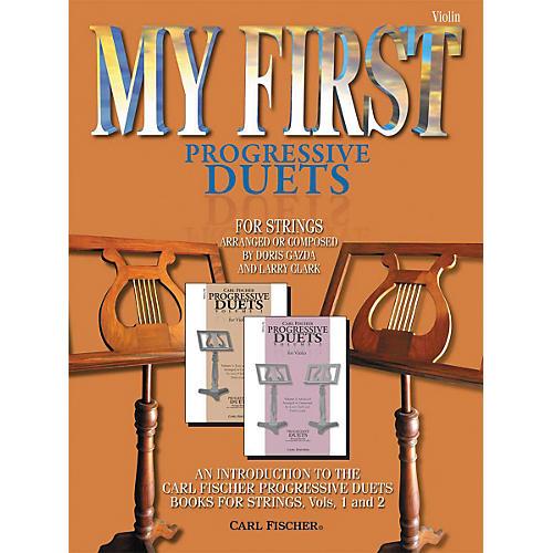 Carl Fischer My First Progressive Duets Book