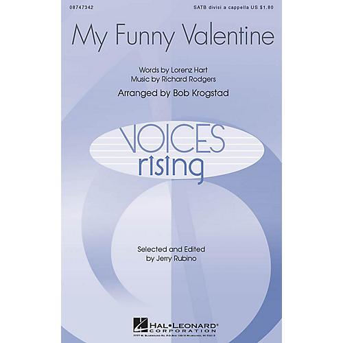 Hal Leonard My Funny Valentine SATB DV A Cappella arranged by Bob Krogstad