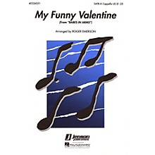Hal Leonard My Funny Valentine (from Babes in Arms) SATB a cappella arranged by Roger Emerson