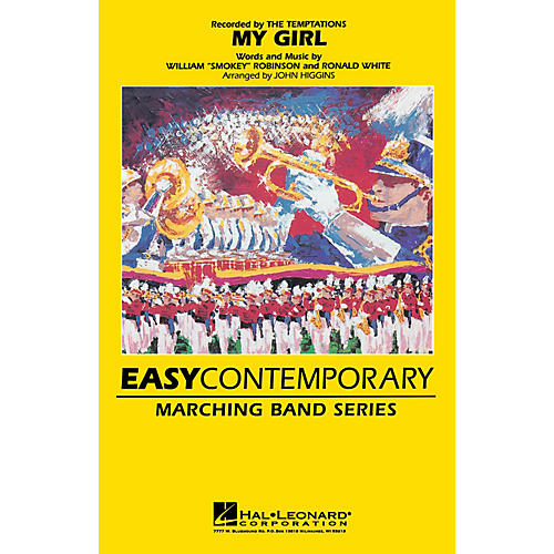 Hal Leonard My Girl Marching Band Level 2 Arranged by John Higgins