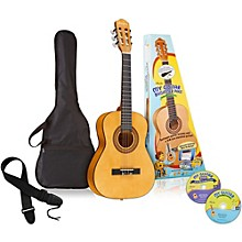 Open Box eMedia My Guitar 3/4 Nylon-String Beginner Acoustic Guitar Pack