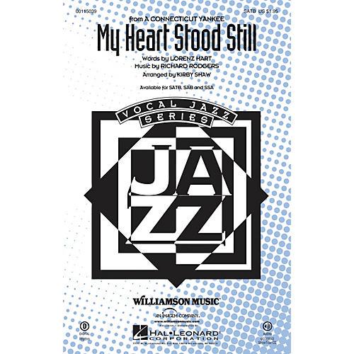 Hal Leonard My Heart Stood Still SAB Arranged by Kirby Shaw