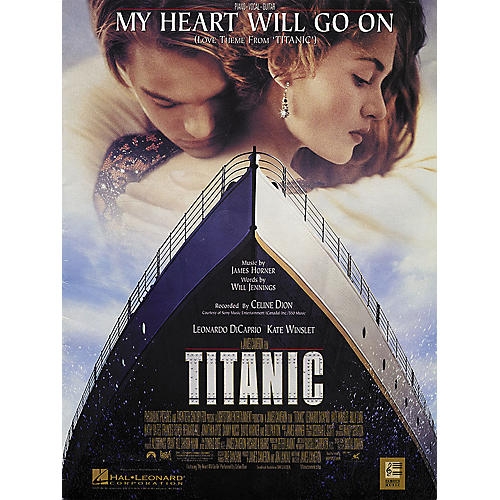 Hal Leonard My Heart Will Go on (Love Theme From Titanic)