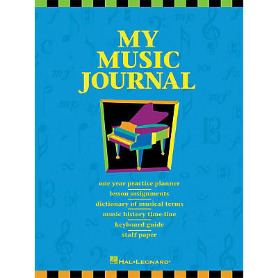 Hal Leonard My Music Journal Student Assignment Book HLSPL