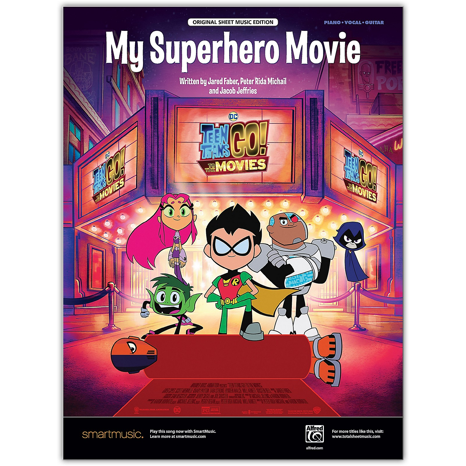 Alfred My Superhero Movie Piano/Vocal/Guitar