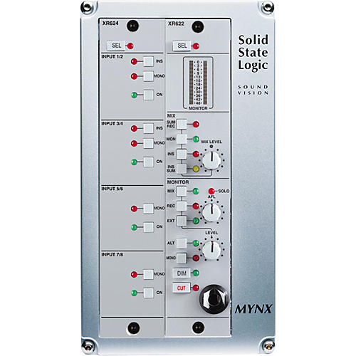 Solid State Logic Mynx 8-Channel SuperAnalogue Mixer Package
