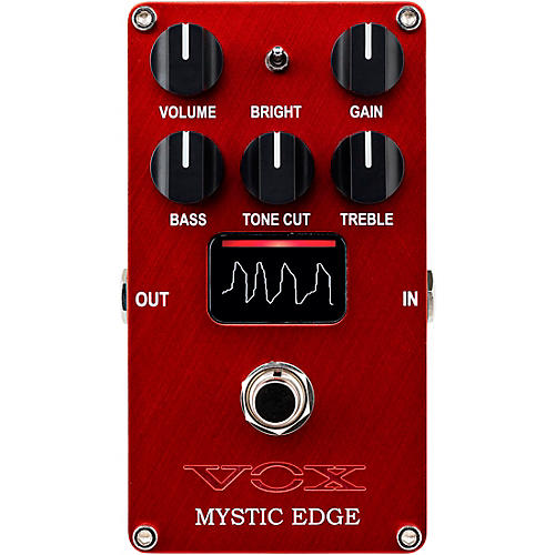 Vox Mystic Edge - Valve Distortion Pedal Red