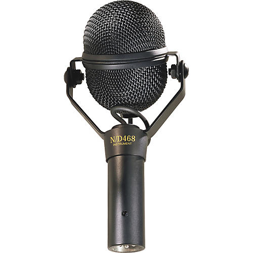 Electro-Voice N/D468 Dynamic Supercardioid Instrument Microphone