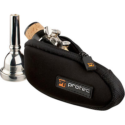 Protec N264 Neoprene Series Trombone/Alto Saxophone Mouthpiece Pouch with Zipper