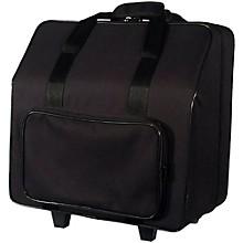 Open BoxSofiaMari NAC-3412 Trolly Accordion Case with Telescopic Handle