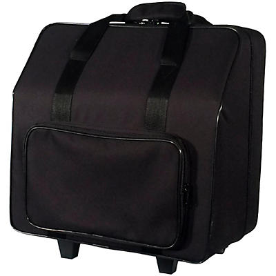 Sofiamari NAC-3412 Trolly Accordion Case with Telescopic Handle