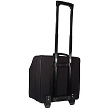 Open Box SofiaMari NAC-4872 Trolly Accordion Case with Telescopic Handle