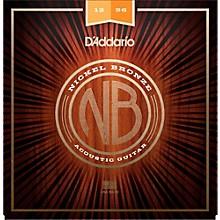 D'Addario NB1256 Nickel Bronze Light Top Med Bottom Acoustic Strings