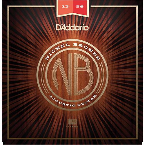 D'Addario NB1356 Nickel Bronze Medium Acoustic Strings