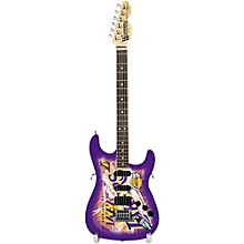 NBA 10 Inch Mini Guitar Collectible Los Angeles Lakers