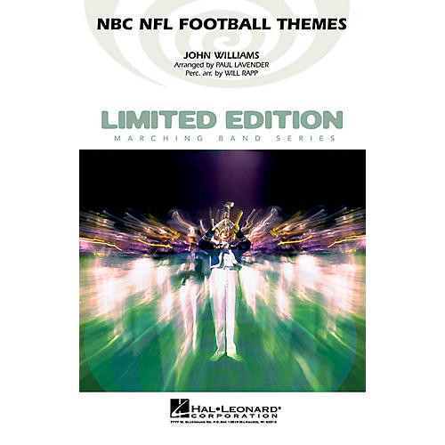 Hal Leonard NBC NFL Football Themes Marching Band Level 3-4 Arranged by Paul Lavender/Will Rapp