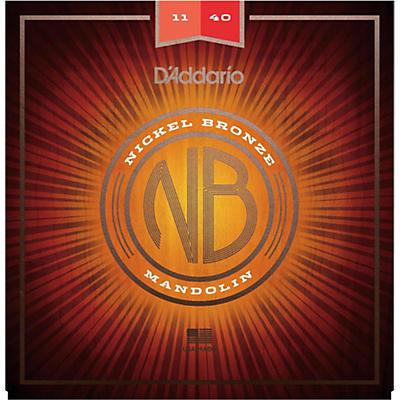 D'Addario NBM1140 Nickel Bronze Medium Mandolin Strings (11-40)