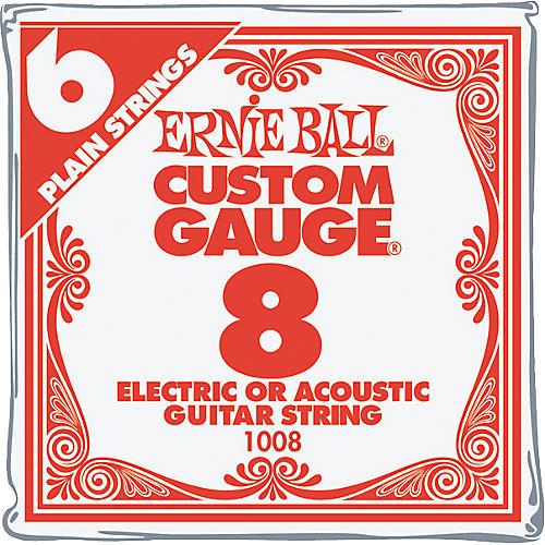 Ernie Ball NCKL Plain Single Guitar String