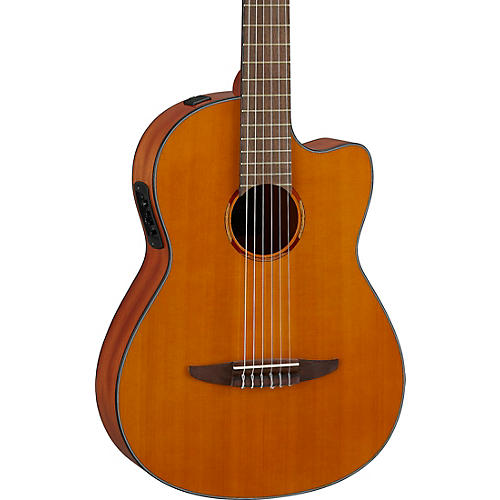 Yamaha NCX1C NT Cutaway Acoustic-Electric Classical Guitar Natural