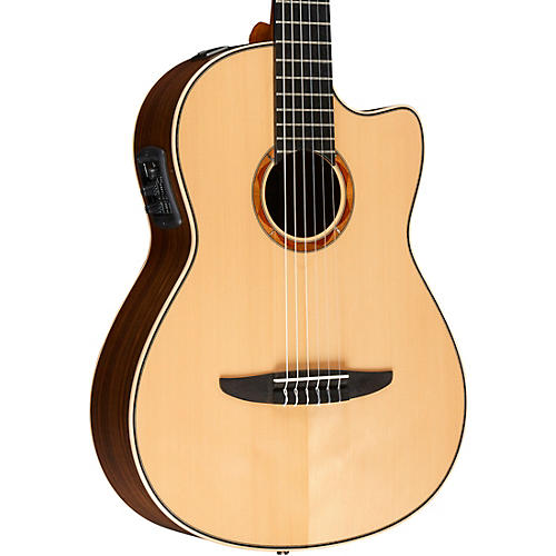 yamaha ncx2000 acoustic electric classical guitar natural musician 39 s friend. Black Bedroom Furniture Sets. Home Design Ideas