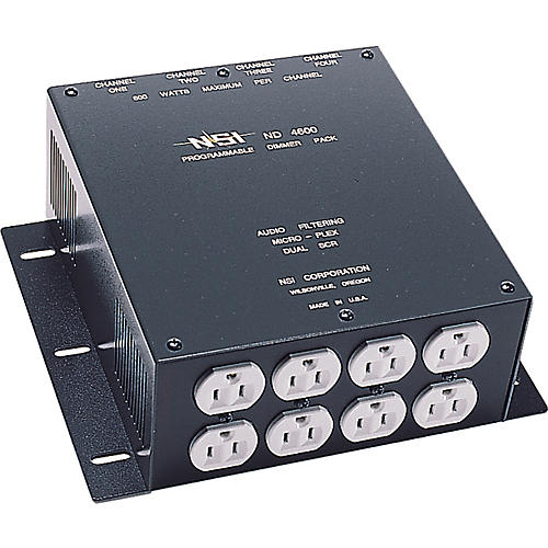 NSI ND4600 Professional Series Dimmer Pack