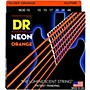 DR Strings NEON Hi-Def Orange SuperStrings Medium Electric Guitar Strings