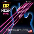 DR Strings NEON Hi-Def Pink Bass SuperStrings Medium 4-String thumbnail