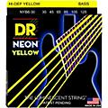 DR Strings NEON Hi-Def Yellow Bass SuperStrings Medium 6-String thumbnail