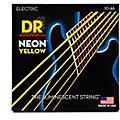 DR Strings NEON Hi-Def Yellow SuperStrings Medium Electric Guitar Strings thumbnail