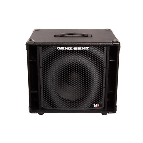 Genz Benz NEX2-112T 300W 1x12 Neodymium Bass Speaker Cabinet w/ Tweeter