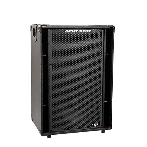 Genz Benz NEX2-212T 600W 2x12 Neodymium Bass Speaker Cabinet w/ Tweeter