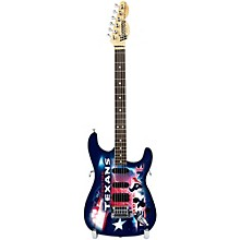 NFL 10-In Mini Guitar Collectible Houston Texans