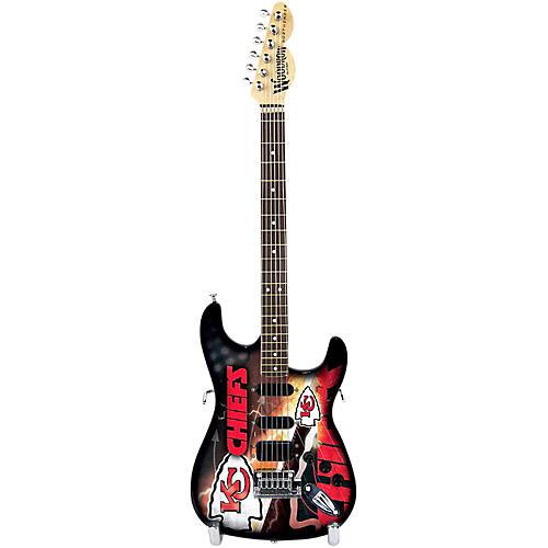 woodrow guitars nfl 10 in mini guitar collectible kansas city chiefs musician 39 s friend. Black Bedroom Furniture Sets. Home Design Ideas