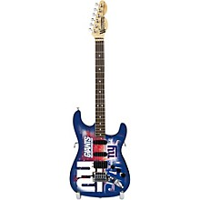 NFL 10-In Mini Guitar Collectible New York Giants