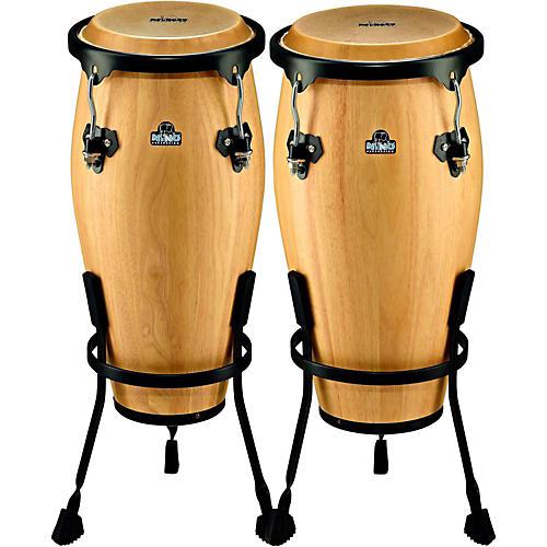 Nino NINO910 Wood Conga Set with Stands