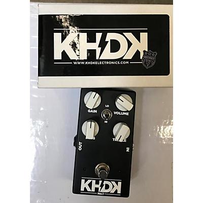 KHDK NO 1 OD BLACK Effect Pedal