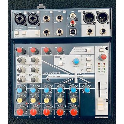 Soundcraft NOTEPAD-8FX Powered Mixer