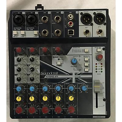 Soundcraft NOTEPAD 8FX Unpowered Mixer