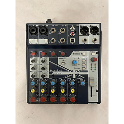 Soundcraft NOTEPAD-8FX Unpowered Mixer