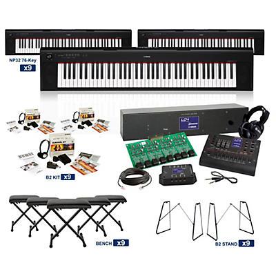Yamaha NP-32 76-Key Piaggero LC4 Keyboard Lab
